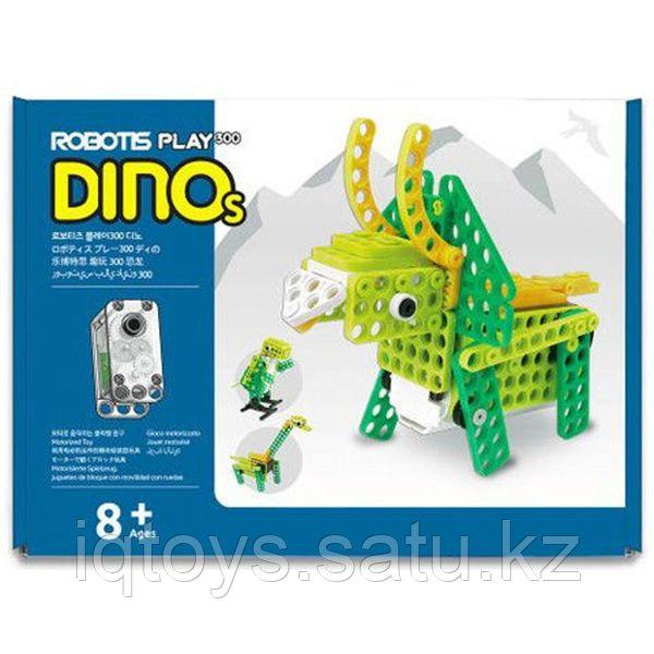 Образовательный набор ROBOTIS PLAY 300 DINOs (Динозавры)