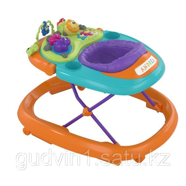 CHICCO: ХОДУНКИ WALKY TALKY BABY WALKER ORANGE WAVE 862404