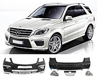Обвес AMG ML63 на Mercedes-Benz ML W166, фото 1