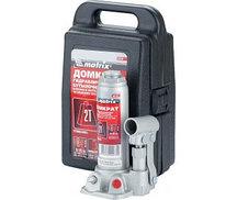 Домкрат гидравлический бутылочный 2 т h подъема 181–345 мм в пласт кейсе MATRIX 50750 (002)
