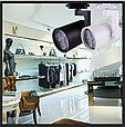 Трековый светодиодный светильник LD-35W (на шинопроводе) LED PAR30(в комплекте), черный, фото 3