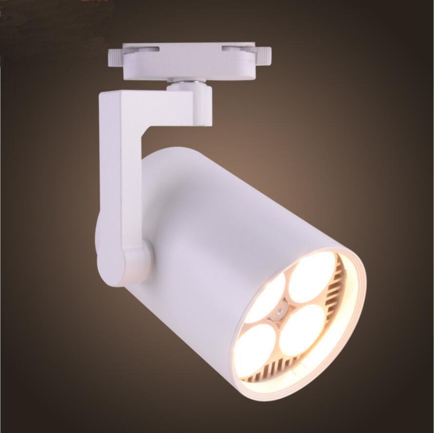 Трековый светодиодный светильник LD-35W (на шинопроводе) LED PAR30(в комплекте), белый