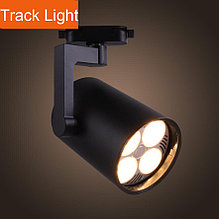 Трековый светодиодный светильник LD-35W (на шинопроводе) LED PAR30(в комплекте), черный