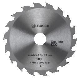 Пильный диск Optiline ECO BOSCH