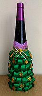"""Чехол на вино(шампанское) """"Новогодняя елка"""", фото 1"""