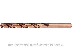 Сверло по металлу, 4.8 мм, HSS CO-5%, 1 шт., MATRIX
