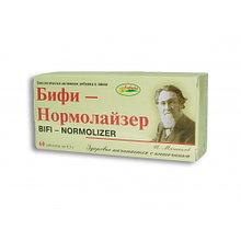 БАД Бифи-нормолайзер, бифидобактерии для нормализации микрофлоры кишечника, 60 таб