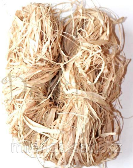 Рафия Натуральная для оформления подарков весом 1 кг