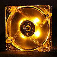 "Кулер для корпуса ""Cooler for Case 120 mm,1100±10%RPM/ 46CFM/20dB(A),0.2±0.02, Lights, Yellow Oem"""