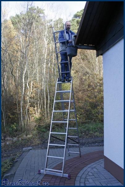 Лестница универсальная 3х14 Krause
