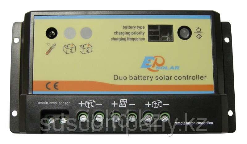 Контроллер заряда на 2 АКБ EPIPDB-COM PWM 20 А, 12/24 В
