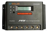 Контроллер заряда ViewStar PWM 40 А, 12/24/36/48 В, фото 1