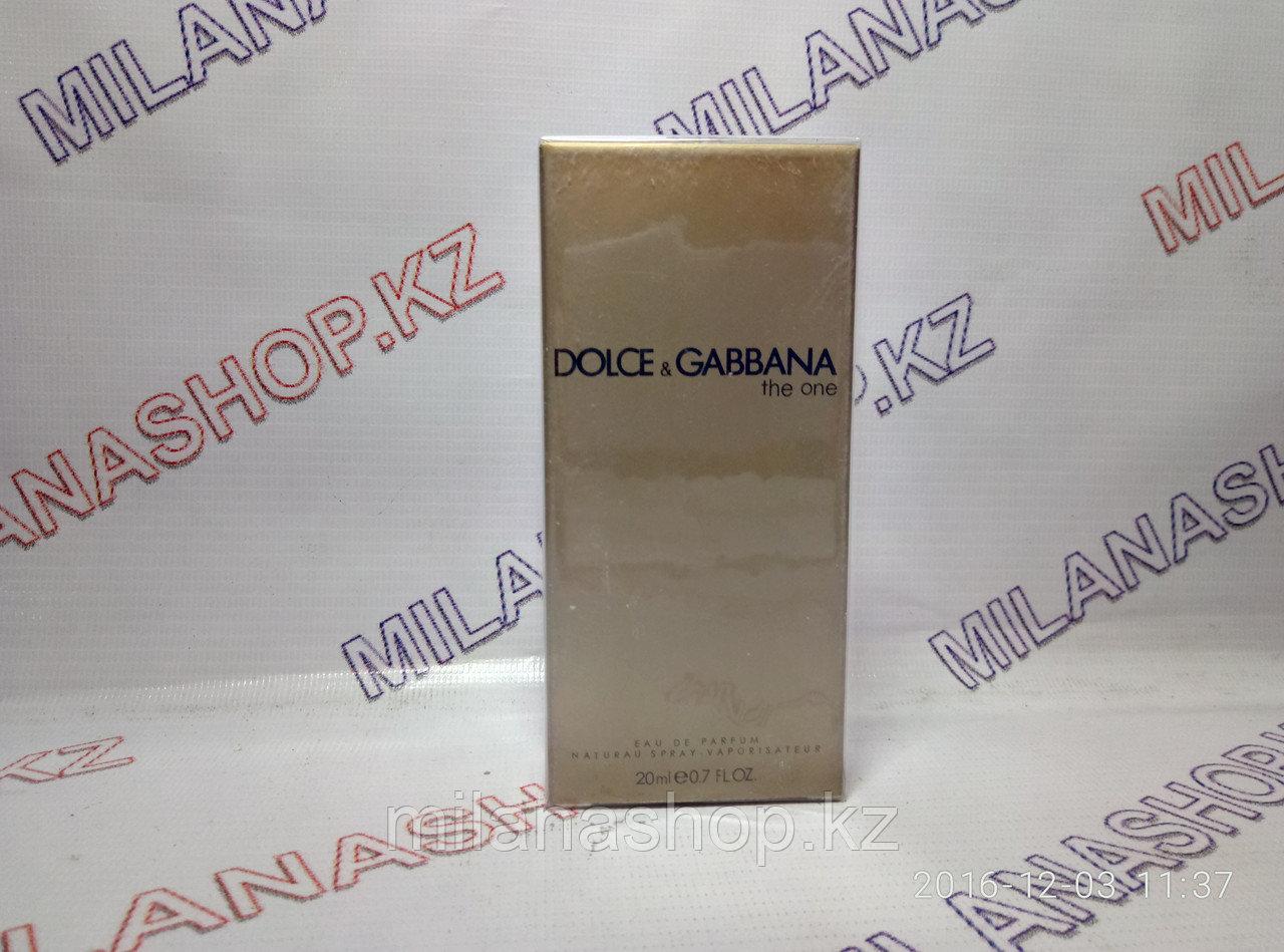 Dolce Gabbana The One Мини ( 20 мг )