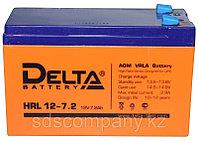 Аккумуляторная батарея HRL12-7.2, 7.2 Ач, AGM (12 лет), фото 1