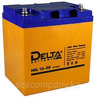 Аккумуляторная батарея HRL12-26, 26 Ач, AGM (12 лет)