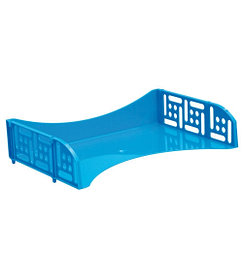 Лоток горизонтальный с широкой загрузкой «ФИЛД» BLUE