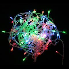 Гирлянда электрическая с 90 LED лампочками 10 метров Multicolor , Астана