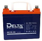 Гелевая аккумуляторная батарея GX12-33, 33 Ач, GEL, фото 2