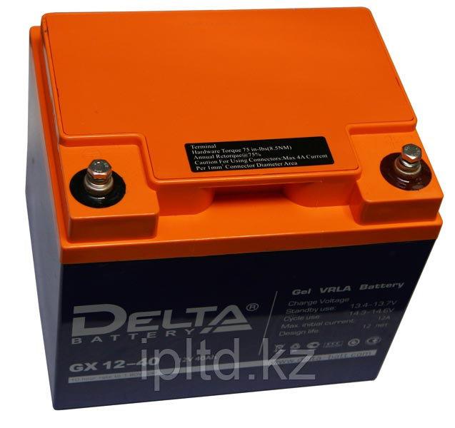 Гелевая аккумуляторная батарея GX12-40, 40 Ач