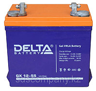 Гелевая аккумуляторная батарея GX12-55, 55 Ач, GEL, фото 1