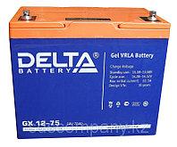 Гелевая аккумуляторная батарея GX12-75, 75 Ач, GEL, фото 1