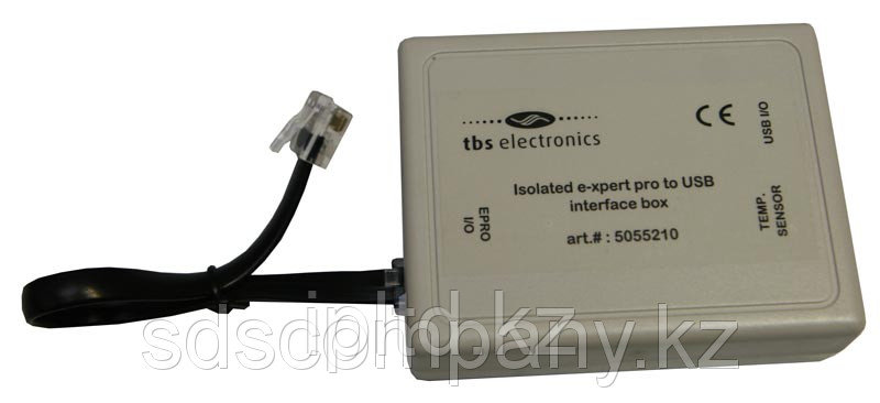 Набор для подключения к компьютеру монитора АКБ E-Xpert PRO (порт USB), производства TBS Electronics