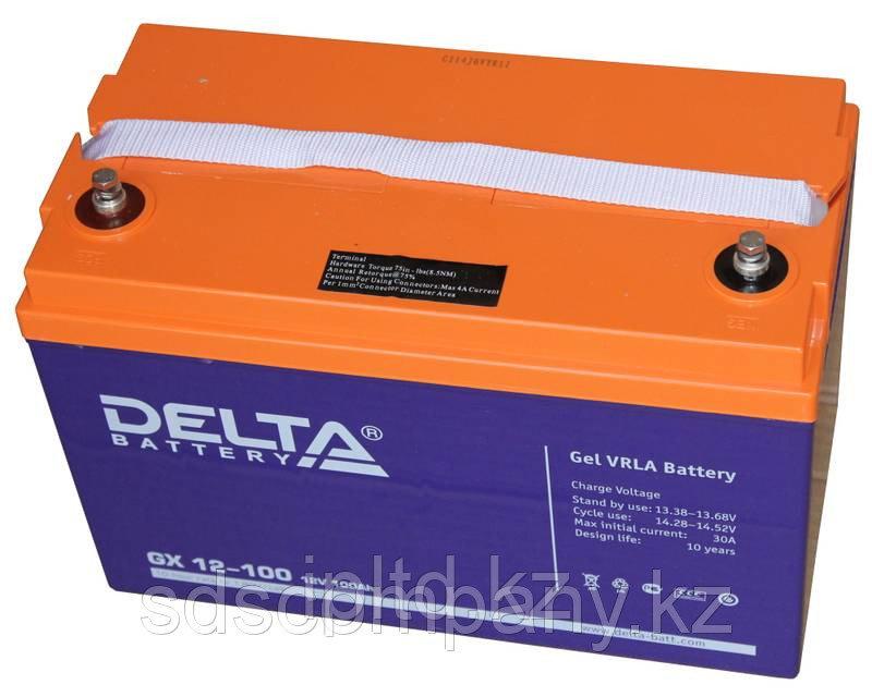 Гелевая аккумуляторная батарея GX12-100, 100 Ач, GEL