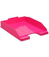Лоток горизонтальный ЭКСПЕРТ розовый GLOSS