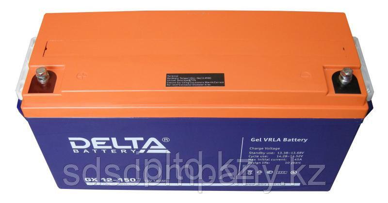 Гелевая аккумуляторная батарея GX12-150, 150 Ач, GEL