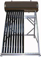 Солнечный водонагреватель с объемом бака 200 л, 24 трубки, система без давления, бак из нержавеющей стали, фото 1