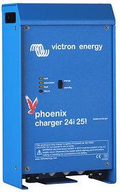 Зарядное устройство для гелевых и AGM аккумуляторов 24 В, 16 А, 2 выхода, производства Victron Energy
