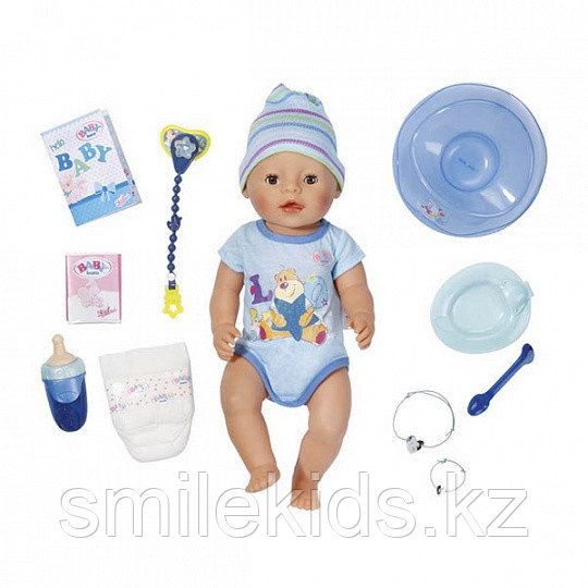 Кукла-мальчик Интерактивная Baby born, 43 см