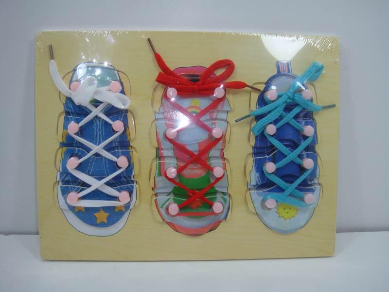 Ботинки шнуровки