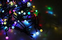 Гирлянда светодиодная 40 ламп мультишарики 9 метров
