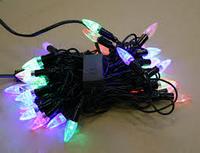 Гирлянда светодиодная 36 ламп капельки 10 метров