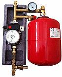 Солнечный водонагреватель с объемом бака 400 л, с двумя теплообменниками, 48 трубок, сплит-система, фото 3