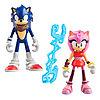 Набор Sonic Boom Соник Бум 2 фигурки в блистере 7,5 см Соник и Эми