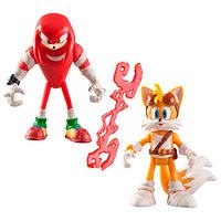 Sonic Boom Соник Бум 2 фигурки в блистере 7,5 см Накл и Тейлз, фото 1