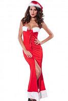 Элегантное платье макси на новый год, фото 1