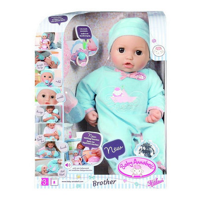 Кукла-мальчик многофункциональная Baby Annabell