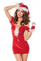Соблазнительное мини платье на новый год, фото 1