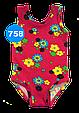 Купальник детский цветы, фото 2