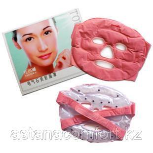 Подарок для женщины  - Многоразовая турмалиновая маска для лица.