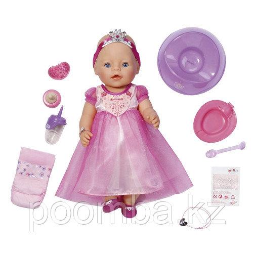 Интерактивная кукла Baby Born - Принцесса в длинном платье, 43 см