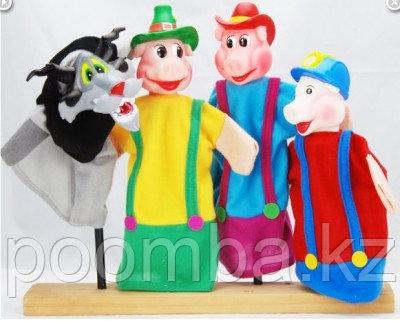 """Кукольный театр """"Три поросёнка"""""""