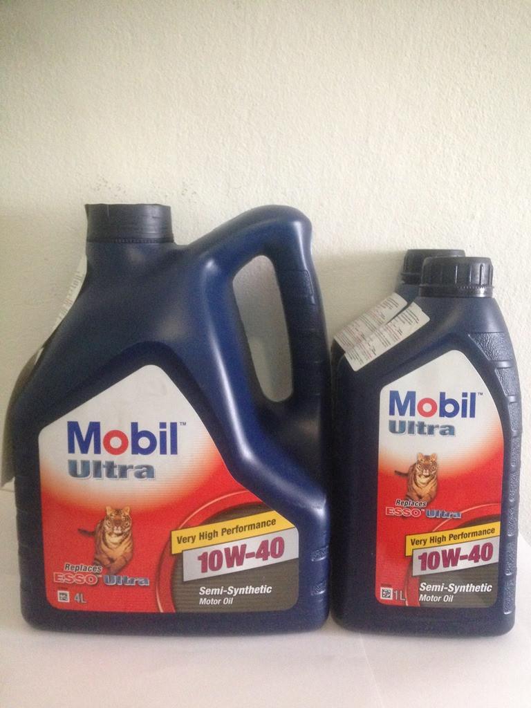 Масло Mobil 10w40 канистра 4 литра
