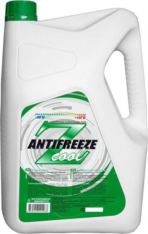 Антифриз зелёный Z-Cool 9 кг.