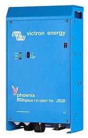 Инвертор с зарядным устройством 24/220В, 700 Вт, 16 А, производства Victron Energy