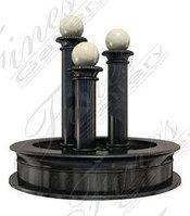 Фонтан Шары на колоннах