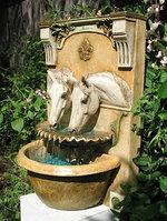 Консольный фонтан Лошади